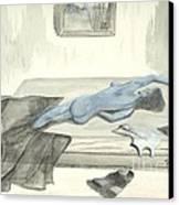 Mmm... Stretch... Canvas Print by Robert Meszaros
