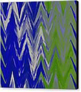 Moda Chevron Pattern IIi Canvas Print by Ricki Mountain