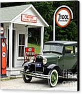 Model A Ford Canvas Print by Ted Kinsman