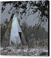 Modern Tepee Canvas Print by Fred Lassmann