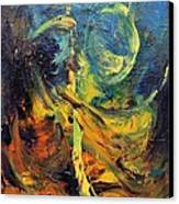Momentum  Canvas Print by Marina R Burch