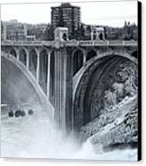 Monroe St Bridge 2 - Spokane Washington Canvas Print