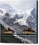 Mont Blanc Canvas Print by Joe Bonita