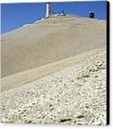 Mont Ventoux.provence Canvas Print by Bernard Jaubert