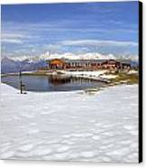 Monte Tamaro - Alpe Foppa - Ticino - Switzerland Canvas Print by Joana Kruse