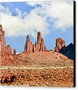 Monument Valley Totem Pole Canvas Print
