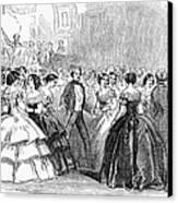 Mormon Ball, 1857 Canvas Print