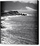 Morning Along The Coast Canvas Print