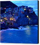 Morning In Manarola Canvas Print by Barbara Walsh
