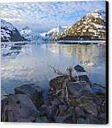 Morning Light At Portage Lake Canvas Print