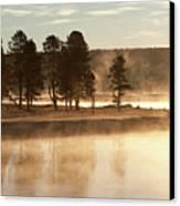Morning Mists Canvas Print by Corinna Stoeffl, Stoeffl Photography