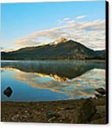 Morning Reflections Canvas Print by Bob Berwyn