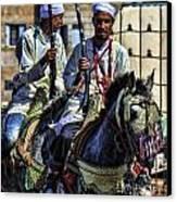 Morocco Dual Canvas Print by Chuck Kuhn