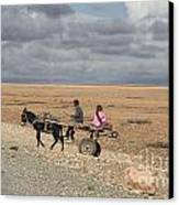 Morocco Transportation Canvas Print by Chuck Kuhn