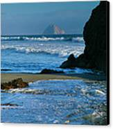 Morro Bay Shoreline II Canvas Print by Steven Ainsworth