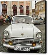 Moscvich Old Car Canvas Print