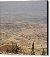Moses First Saw The The Holy Land Canvas Print