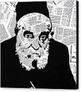 Moshe Feinstein Canvas Print by Anshie Kagan