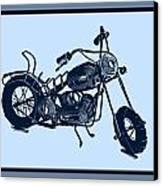 Motorbike 1a Canvas Print by Mauro Celotti