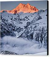 Mount Rolleston In The Dawn Light Canvas Print