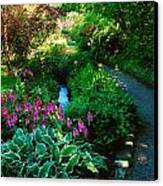 Mount Usher Gardens, Co Wicklow Canvas Print