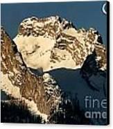 Mountain Christmas Austria Europe Canvas Print