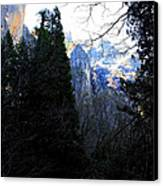 Mountains Of Yosemite . 7d6214 Canvas Print