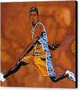Mr Assist Steve Nash Canvas Print