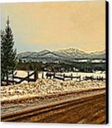 Mud Season Canvas Print by John Selmer Sr