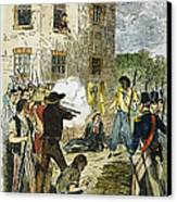 Murder Of Joseph Smith Canvas Print