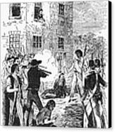 Murder Of Smith, 1844 Canvas Print by Granger