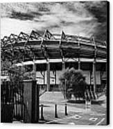 Murrayfield Stadium Edinburgh Rugby Scotland Canvas Print by Joe Fox