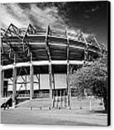 Murrayfield Stadium Edinburgh Scotland Rugby Canvas Print