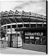 Murrayfield Stadium Edinburgh Scotland Uk United Kingdom Canvas Print by Joe Fox