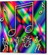 Music Canvas Print by Anthony Caruso