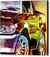 Mustang_2 Canvas Print by Whitney Bruneau
