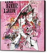 My Fair Lady Canvas Print by Georgia Fowler