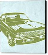 My Favorite Car 5 Canvas Print by Naxart Studio
