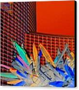 My Vegas City Center 59 Canvas Print
