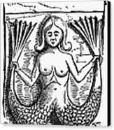 Mythology: Mermaid Canvas Print by Granger