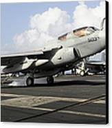 N Ea-6b Prowler Makes An Arrested Canvas Print