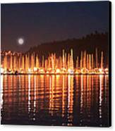Nanaimo Harbour Canvas Print by Dayvid Clarkson