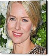 Naomi Watts At Arrivals For Chanel 6th Canvas Print by Everett