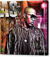 Nas Canvas Print by The DigArtisT