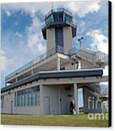 Nasa Air Traffic Control Tower Canvas Print by Nasa
