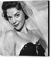 Natalie Wood, Warner Brothers, 1950s Canvas Print by Everett
