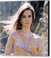 Natalie Wood, Wearing A Pucci Design C Canvas Print