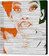 Natasha Canvas Print by Naxart Studio