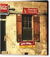 Natchez Mississippi 1940 Canvas Print