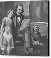 Nathaniel Hawthorne, American Author Canvas Print